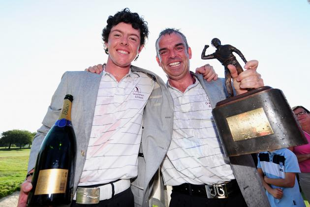 McGinley will captain Euros at 2014 Ryder Cup