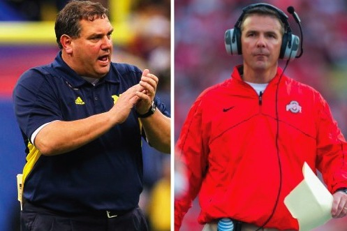 Why the Best Rivalry in College Football Will Be Brady Hoke vs. Urban Meyer
