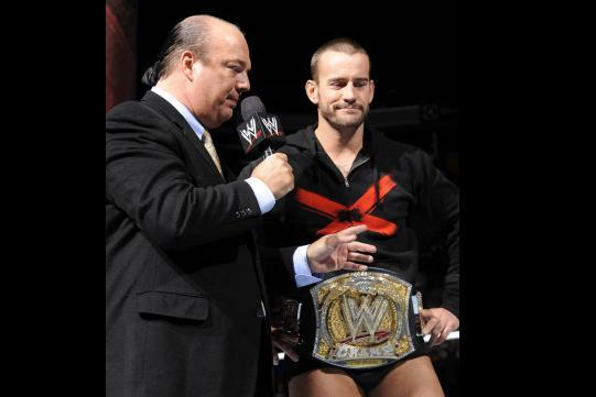 WWE: Paul Heyman Will Betray WWE Champion CM Punk in 2013