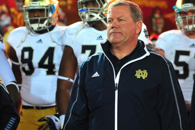 Notre Dame Football: Irish Fans Should Forget About Brian Kelly's NFL Interviews