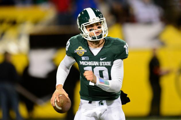 Michigan State's Spring QB Battle Peaks with April 20 Green and White Game