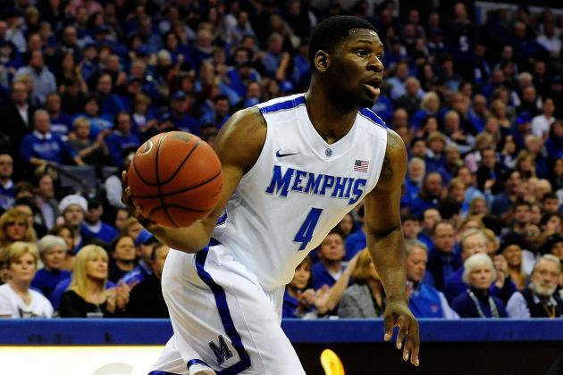 Memphis Basketball Notes vs. Rice