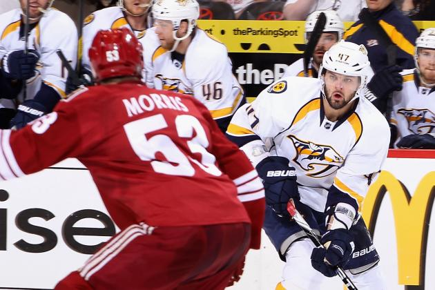 Nashville Predators Begin with Big Road Trip