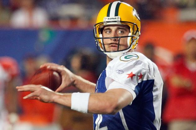 Rodgers Said He Won't Play in Pro Bowl Due to Injury