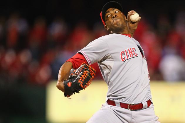 Cincinnati Reds: How Many Wins Does Aroldis Chapman Add to the Rotation?