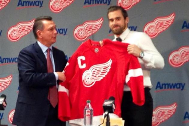 Red Wings Officially Name Zetterberg Captain