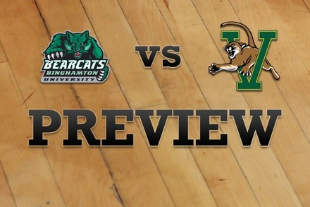 Binghamton vs. Vermont: Full Game Preview