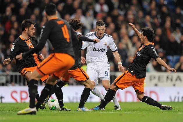 Real Madrid vs. Valencia Copa del Rey Quarterfinal: Full Match Recap