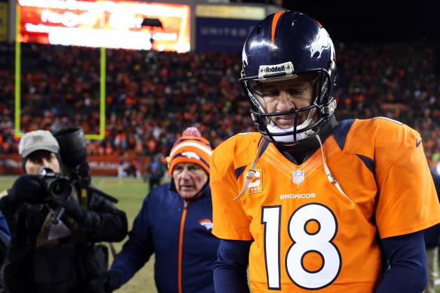 Peyton Manning Lost His Confidence with the Denver Broncos