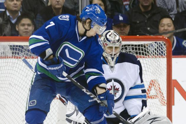 Booth's Injury Leaves Canucks with Scoring Questions