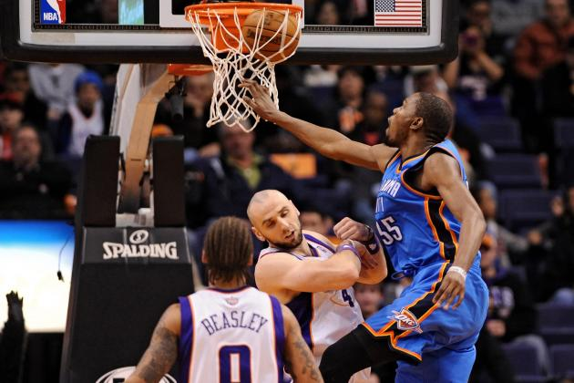 Suns' Marcin Gortat jokes about getting dunked on by Thunder's Kevin Durant