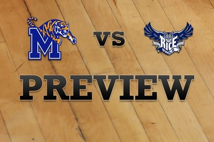 Memphis vs. Rice: Full Game Preview