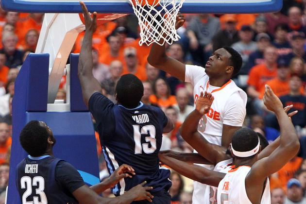 Syracuse Has Transformed Itself into a Pretty Decent Rebounding Team