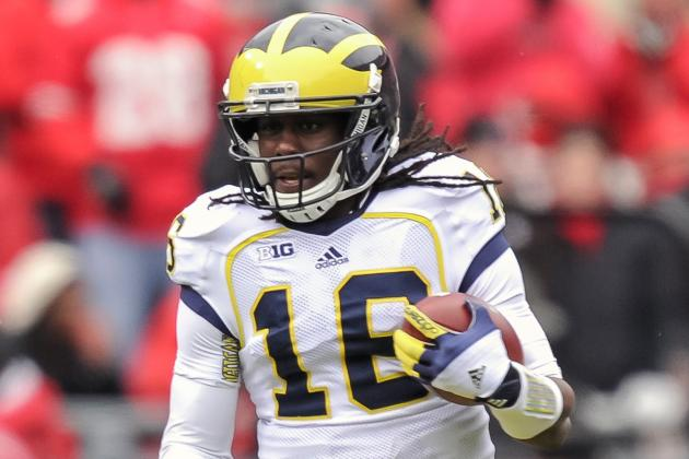 Michigan's Robinson to Play WR at Senior Bowl