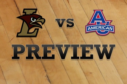 Lehigh vs. American University: Full Game Preview