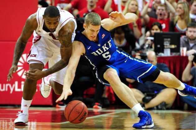 Duke Basketball: Will Ryan Kelly's Injury Cripple Mason Plumlee's POY Chances?