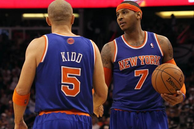 Knicks Using London Trip to Heal Up