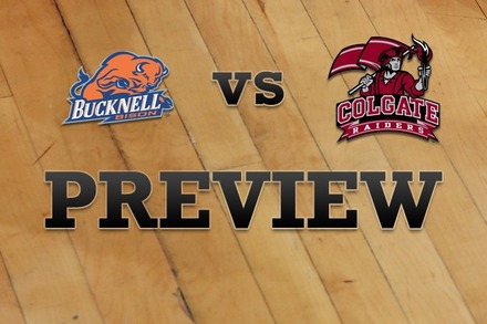 Bucknell vs. Colgate: Full Game Preview