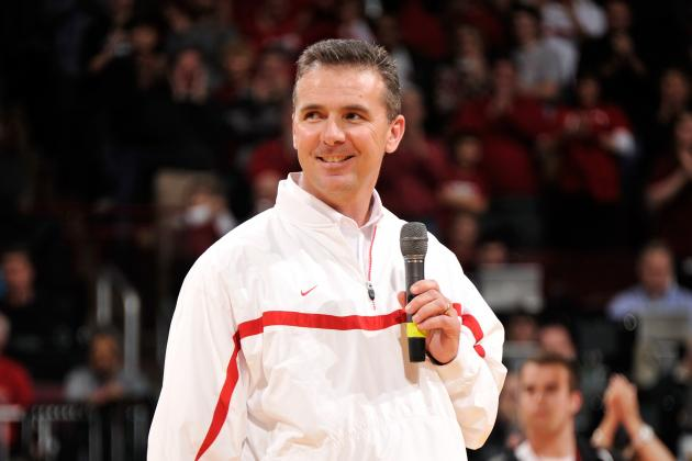 Urban Meyer Visits Top 2014 Wide Receiver Prospect Drake Harris