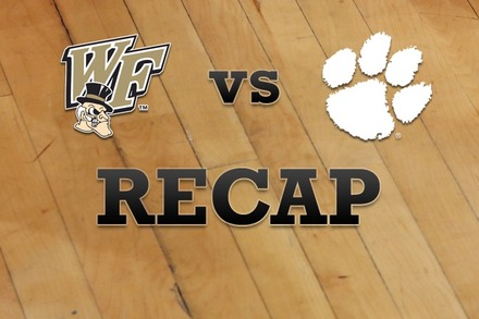 Wake Forest vs. Clemson: Recap and Stats