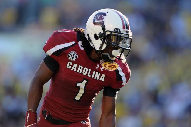 Report: Ace Sanders Declares for NFL Draft