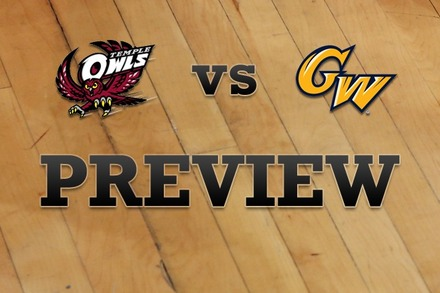 Temple vs. George Washington: Full Game Preview