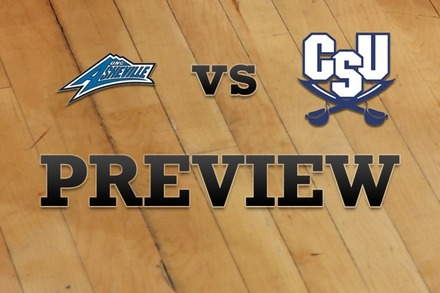 North Carolina-Asheville vs. Charleston Southern: Full Game Preview