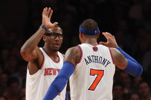 Carmelo Anthony Must Build Amar'e Stoudemire's Confidence Now