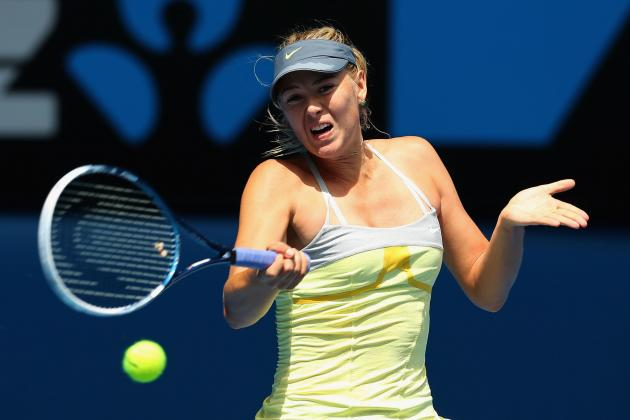 Maria Sharapova: Predicting How Many Grand Slam Titles She'll End Career with