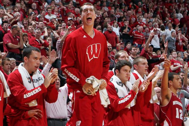 Unranked Badgers stun No. 2 Indiana, take over 1st place - JSOnline