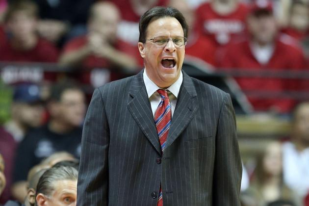 Tom Crean, Bo Ryan Share Hurried Handshake