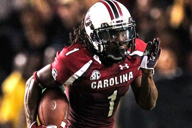 South Carolina WR Ace Sanders Officially Enters NFL Draft