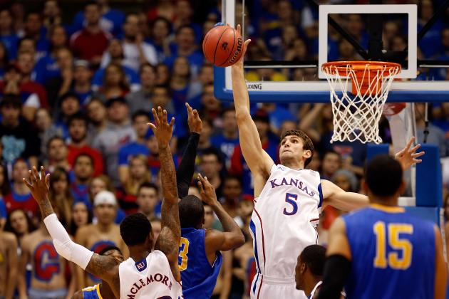 Kansas Relies on Jeff Withey for Timing and Patience with Championship Hopes