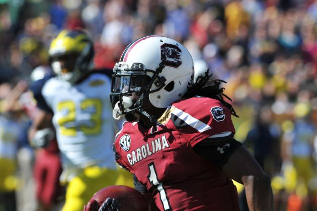 South Carolina Football: Ace Sanders Changes His Mind, Declares for NFL Draft