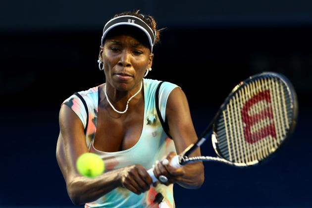 Venus Williams Defeats Alize Cornet at 2013 Australian Open