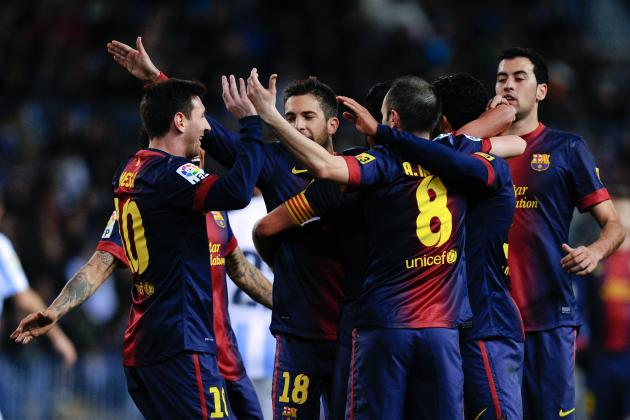 Barcelona vs. Malaga: Live Stream Info for Spanish Copa Del Rey Clash