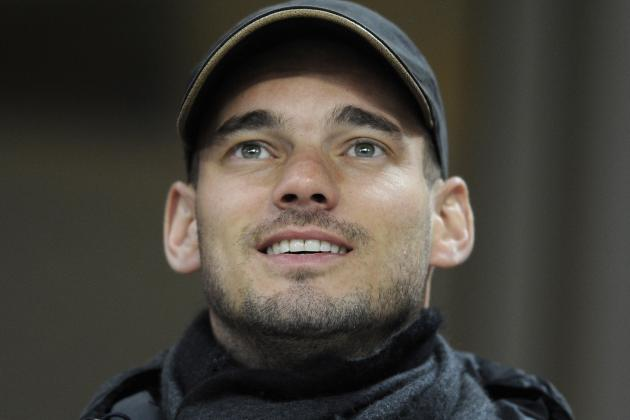 Sneijder Will Calmly Ponder Move