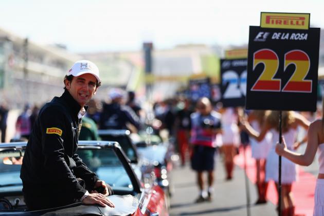 Ferrari Sign Former HRT Driver De La Rosa for the 2013 Season