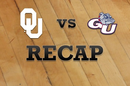 Oklahoma vs. Gonzaga: Recap and Stats