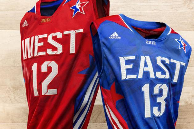 Grading Adidas' New NBA All-Star Jerseys
