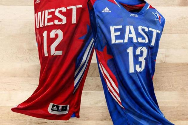 Adidas Reveals 2013 NBA All-Star Jerseys for East and West Teams