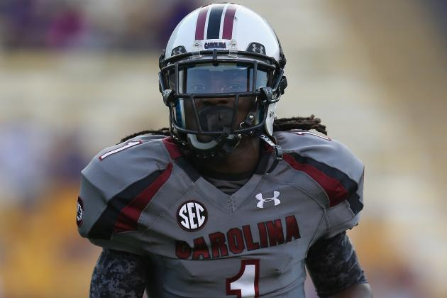 South Carolina's Ace Sanders Made a Good Call Going Pro