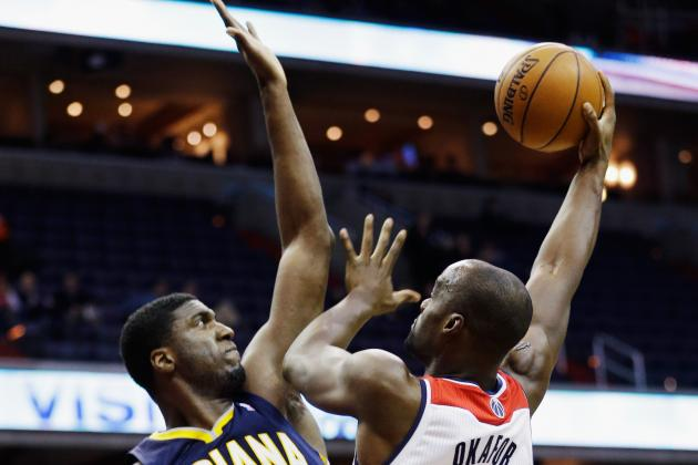 Pacers' Roy Hibbert Pays His Debts After Defensive Win over Bobcats
