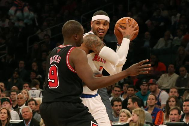 Sources: Knicks Record Talk Between Melo, Bulls