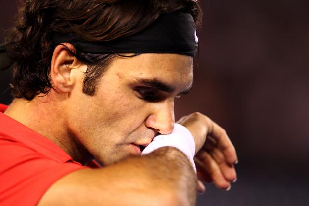 Roger Federer Eliminated by Andy Murray at 2013 Australian Open