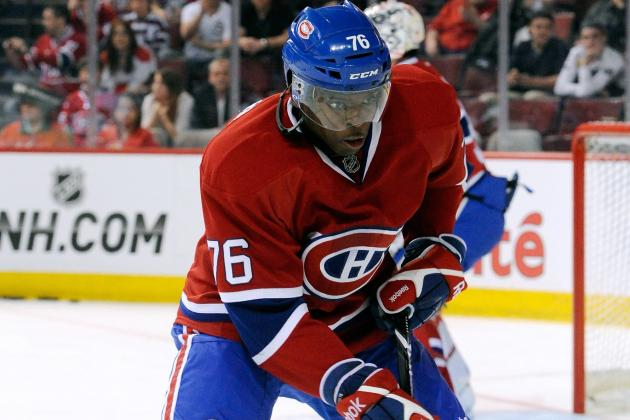 Report: Subban, Habs Still Far Apart on New Agreement