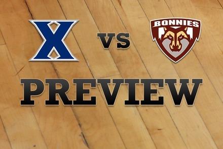 Xavier vs. St. Bonaventure: Full Game Preview