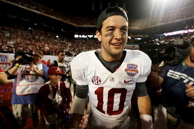 Tide QB AJ McCarron to Be Honored Jan. 29 with Key to the City of Mobile
