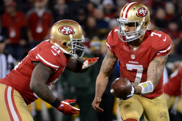 Frank Gore: Kaepernick Special 'When He First Got Here'