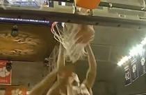 K.J. McDaniels Huge Put Back Dunk (Video)